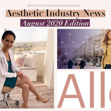 New in Aesthetic Medicine August 2020