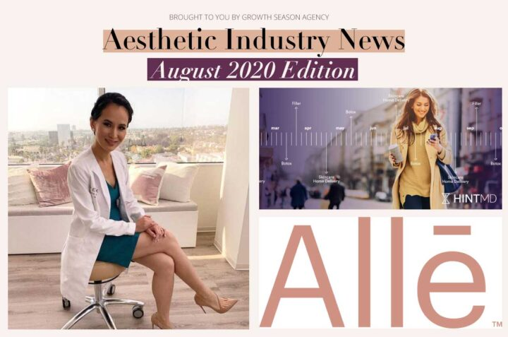 Aesthetic Industry News: August 2020